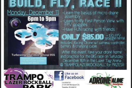 Super Special Mega Fun Build, Fly, Race Drone Event, December 11th | December 16th