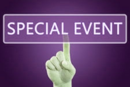 Special Events Page Button